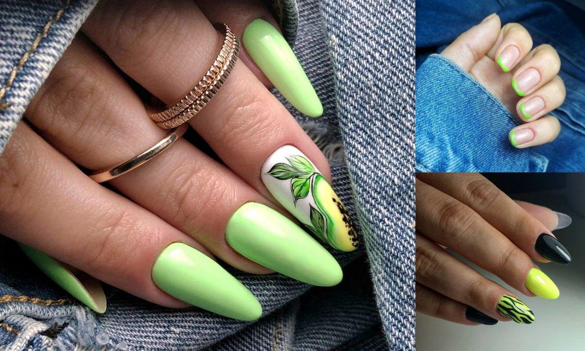 Zielony manicure - ponad 20 stylowych i ciekawych propozycji