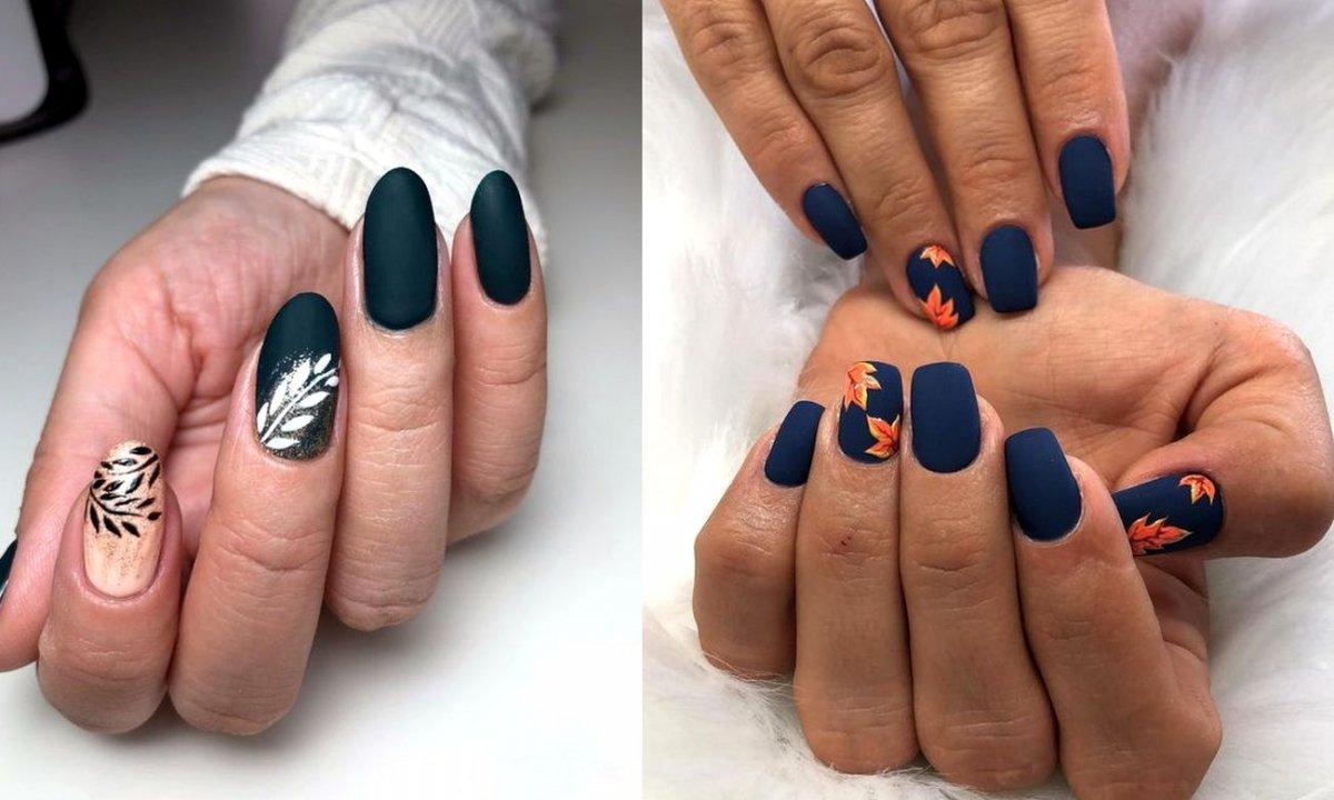 Jesienna galeria manicure - 21 najpiękniejszych odsłon