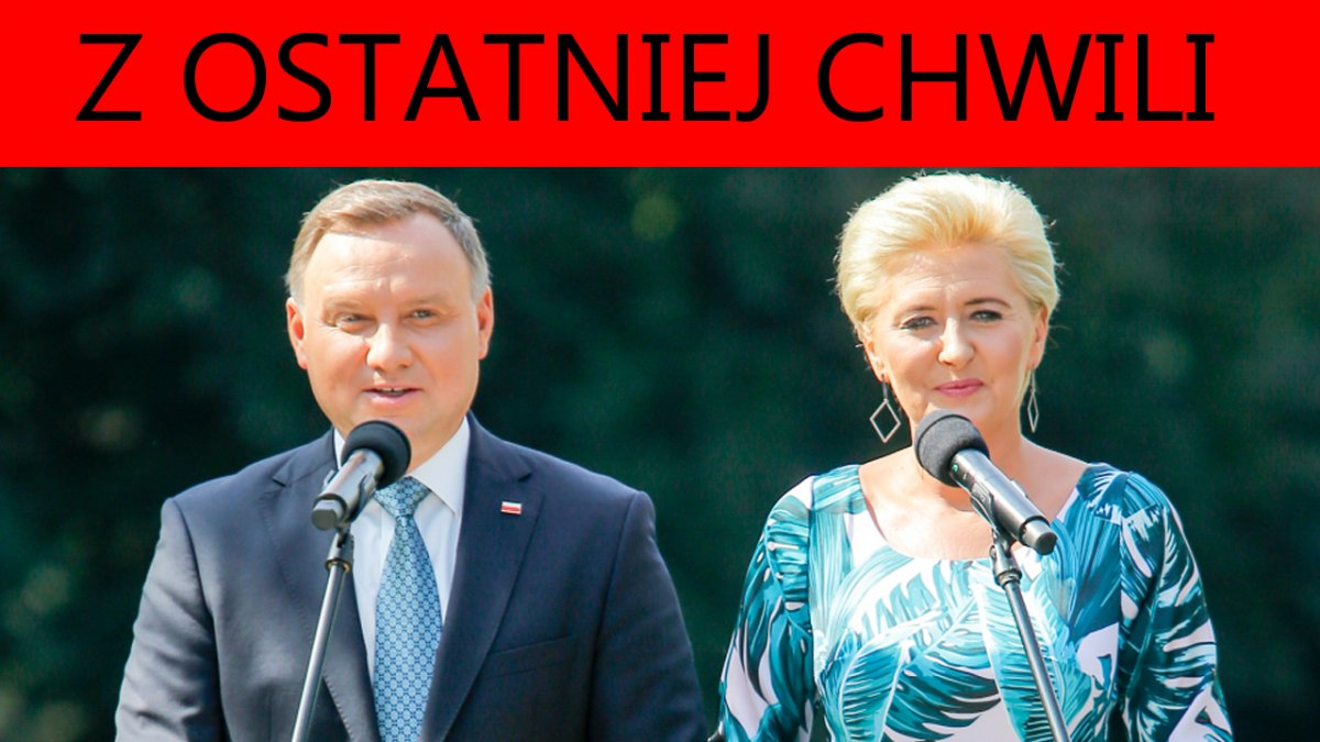 Andrzej Duda i Agata Kornhauser-Duda w końcu przemówili! Prezydent skrytykował prezesa PiS?!