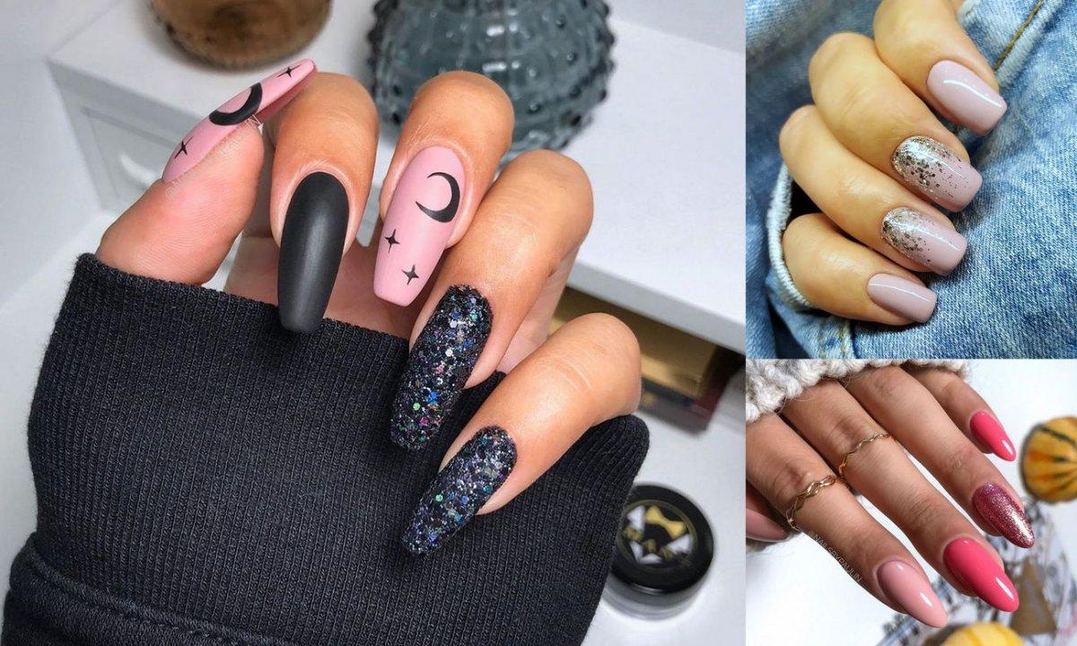 30 pomysłów na manicure z dodatkiem brokatu! [GALERIA]