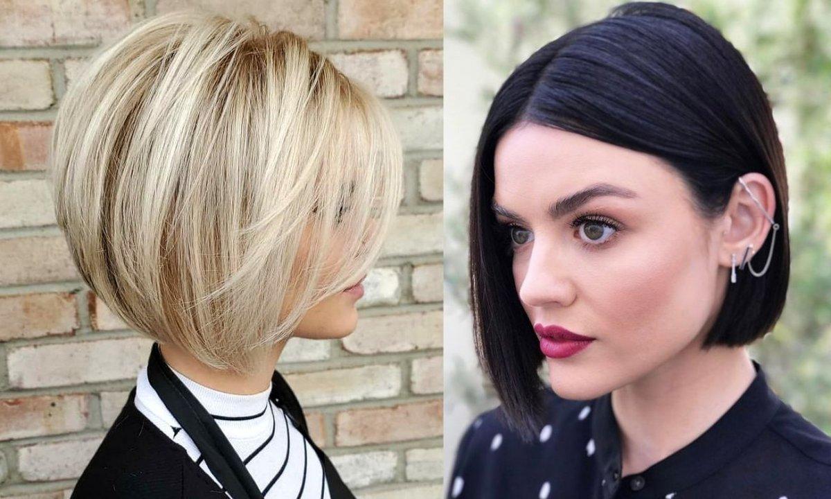 Włosy w pół szyi - 15 kobiecych trendów