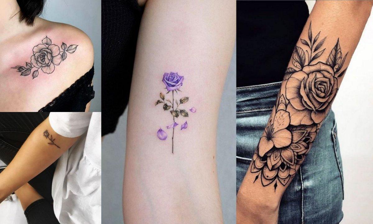 Tatuaż róża - 30 niesamowitych wzorów, jakich jeszcze nie widziałaś