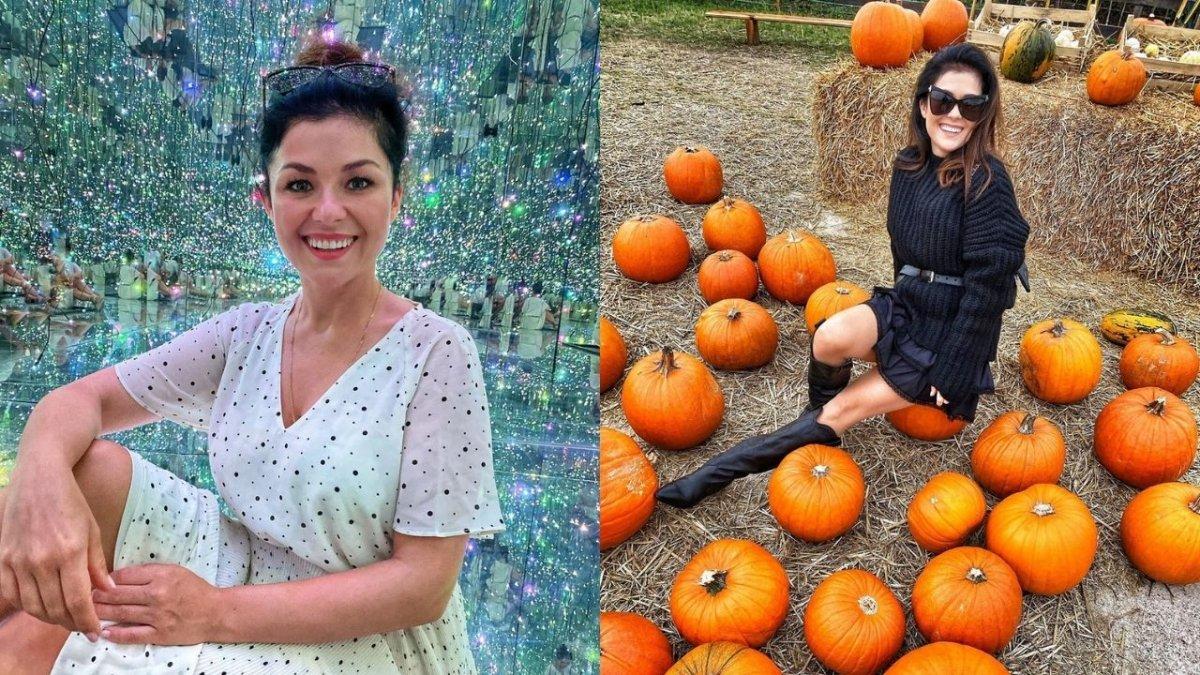 Katarzyna Cichopek już udekorowała taras na Halloween. Odkryła swoją wewnętrzną jesienniarę?