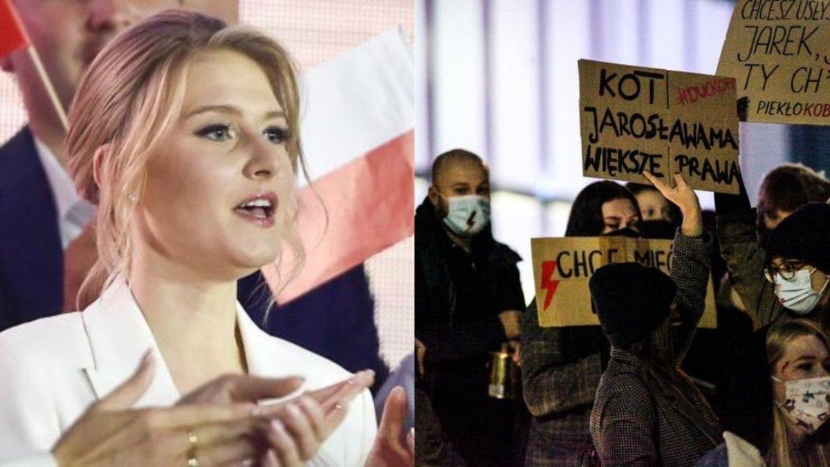 Strajk Kobiet: Kinga Duda przerywa milczenie! Tacie chyba nie spodobają się jej słowa