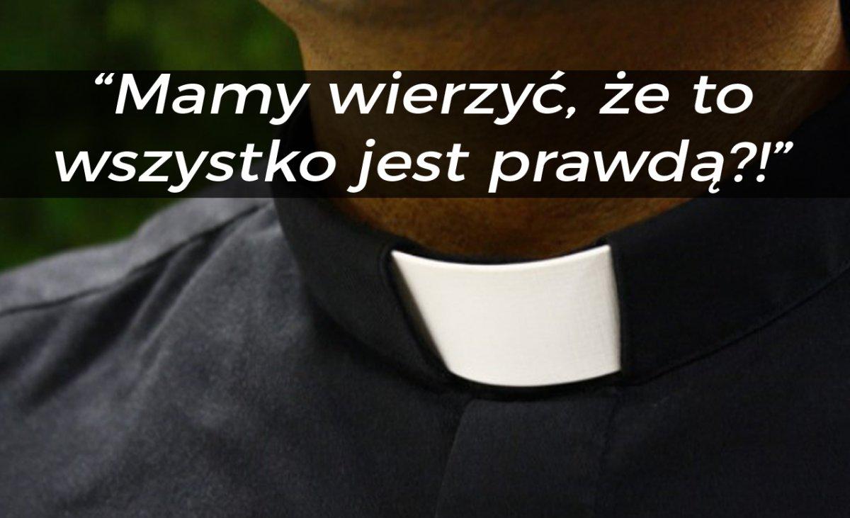"""Kolejny ksiądz ostro o pandemii: """"Zamaskowany człowiek nie ma prawa wchodzić do kościoła!"""""""