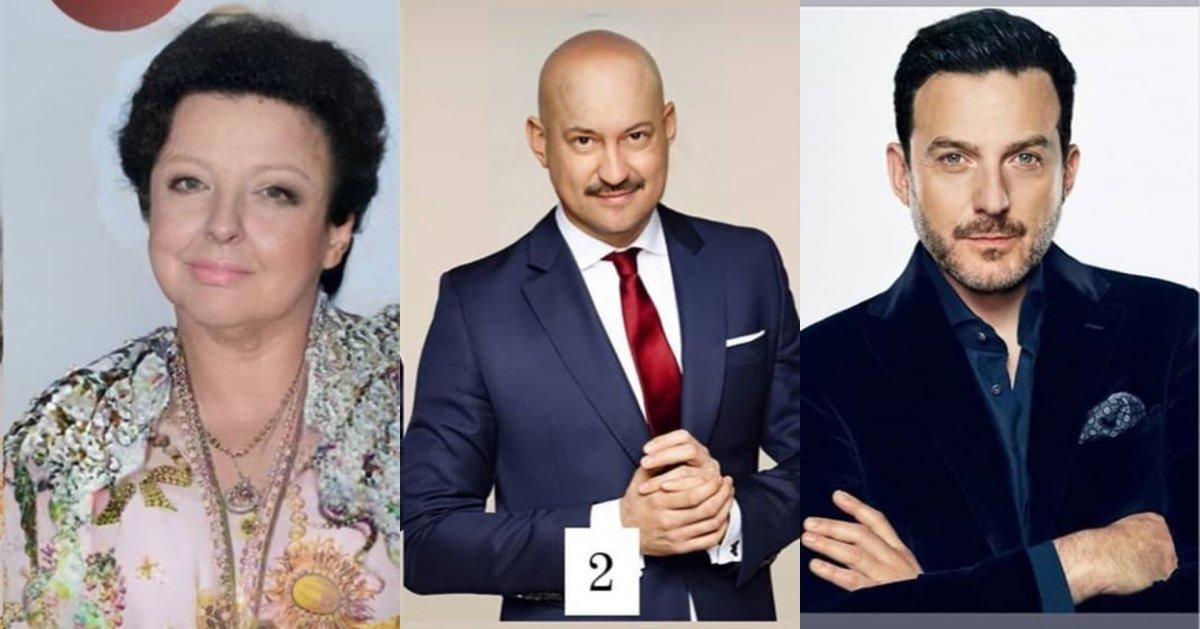 Metamorfozy gwiazd: Magda Gessler ruda - z grzywką, Marcin Prokop łysy, a Filip Chajzer? Szok!