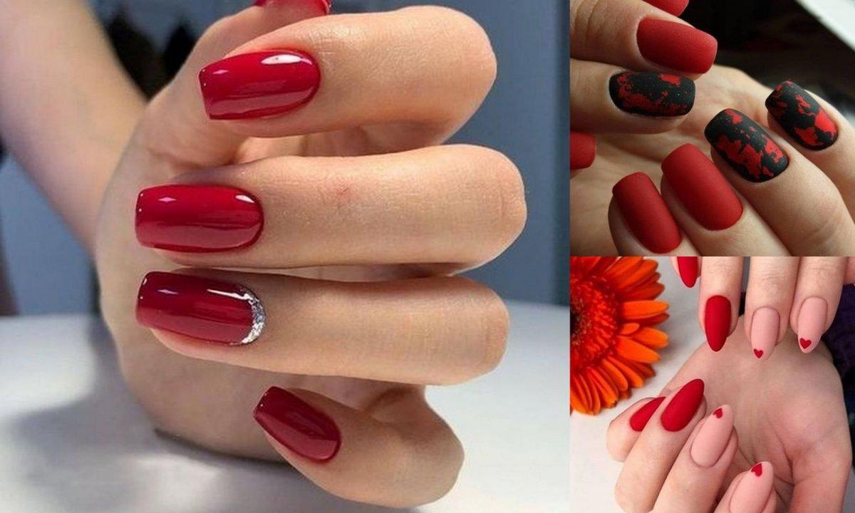 Czerwony manicure – klasyka w jesiennych odsłonach
