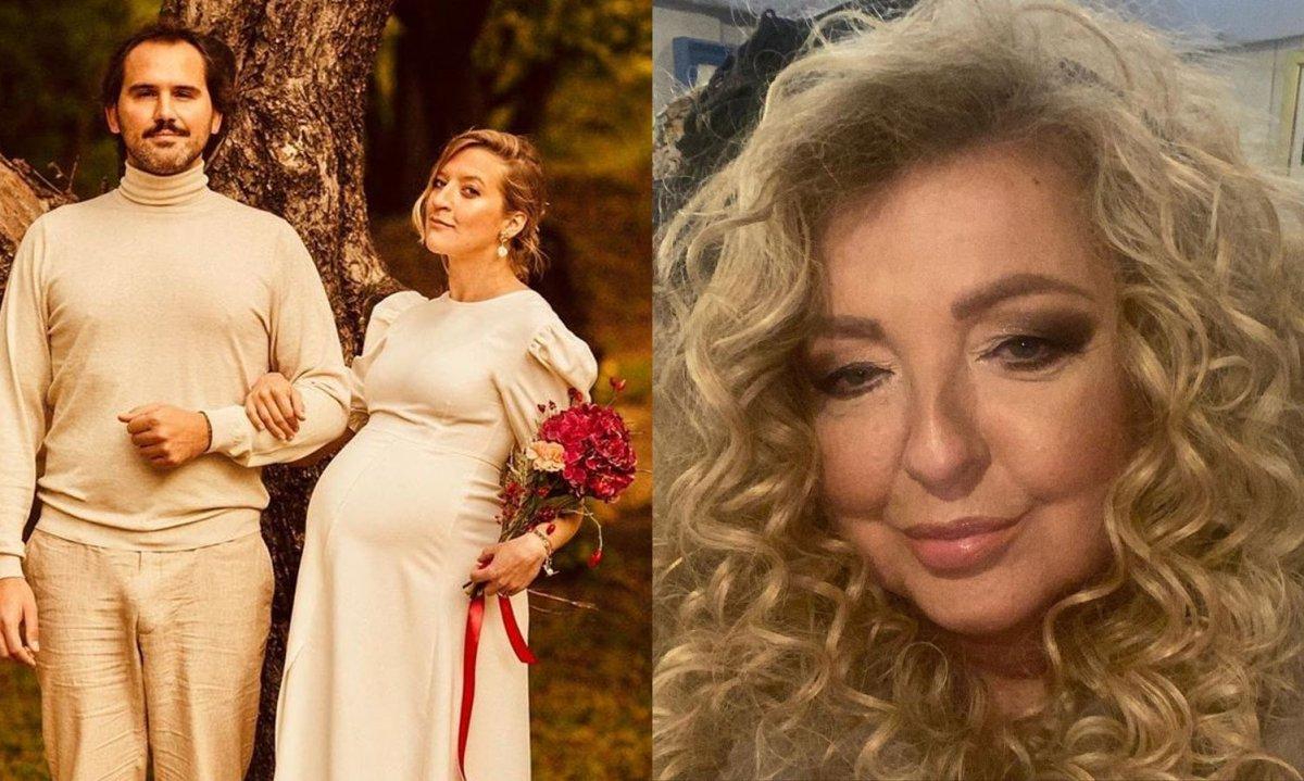 Magda Gessler pokazała niepublikowane zdjęcie ze ślubu Lary! Widać, jaką miała fryzurę!