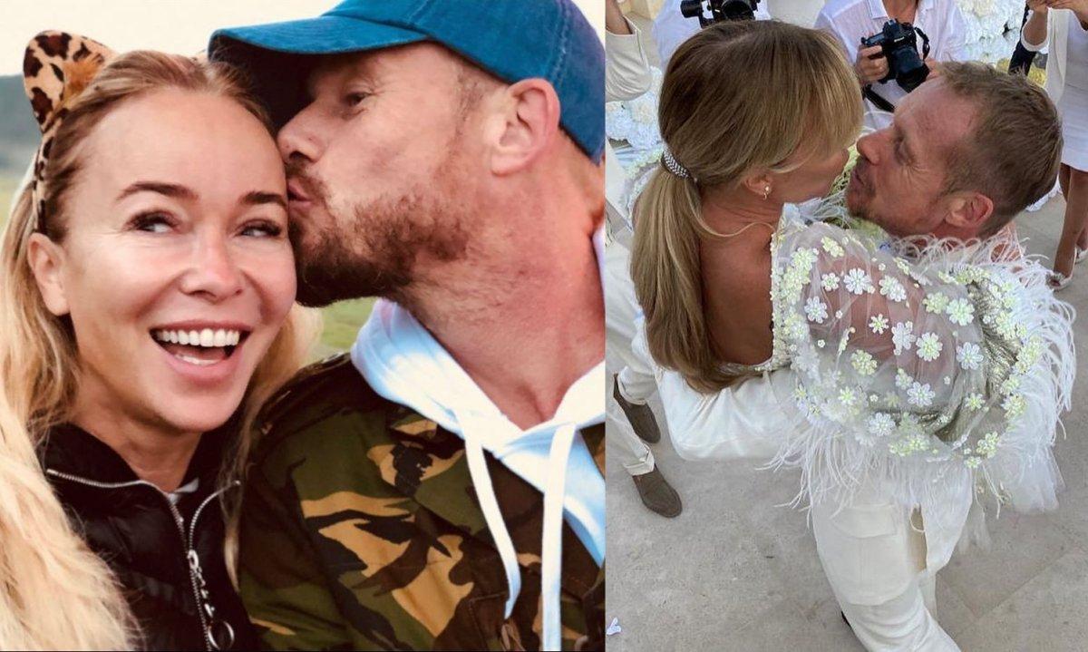 Rinke Rooyens pokazał intymne zdjęcie po nocy poślubnej z Joanną Przetakiewicz! Zdradził też treść przysięgi