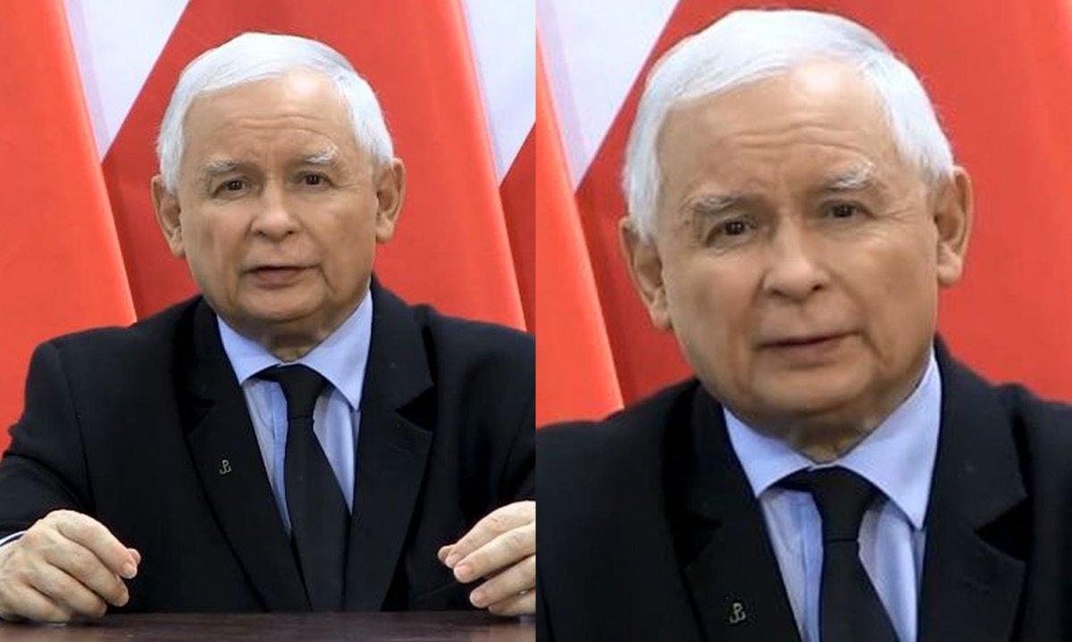 """Strajk kobiet: Kaczyński dolewa oliwy do ognia we wstrząsającym oświadczeniu. """"Obrońmy Polskę"""""""