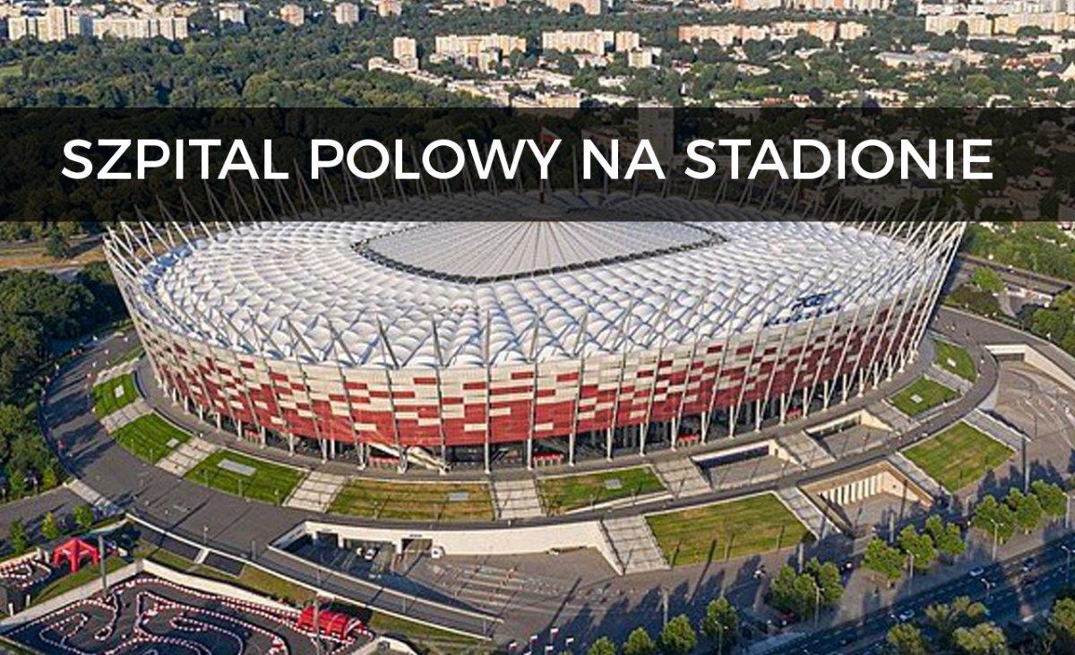 Stadion zamieni się w szpital polowy? Dramatyczna walka z wirusem trwa