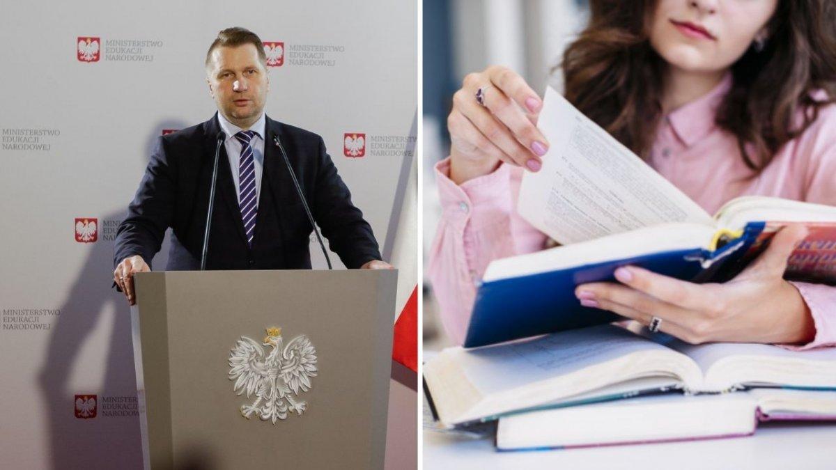 """Minister Edukacji chce zmieniać podręczniki. Czarnek zapowiada też """"dekomunizację"""" polskiej nauki"""