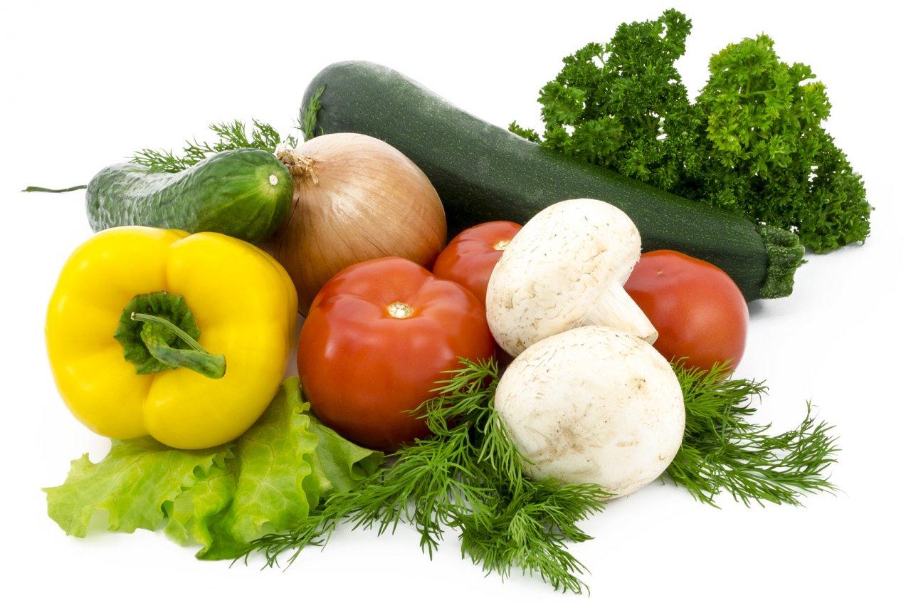 fresh vegetables close-up