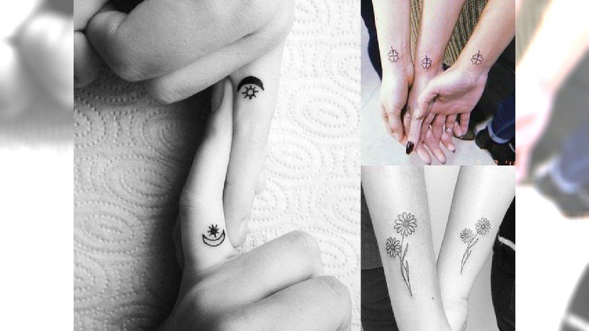 Tatuaże Dla Sióstr I Przyjaciółek Galeria Oryginalnych I Uroczych Wzorów