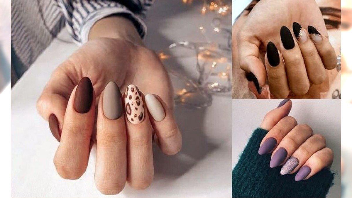 Matowe paznokcie - galeria uroczych i ciekawych propozycji