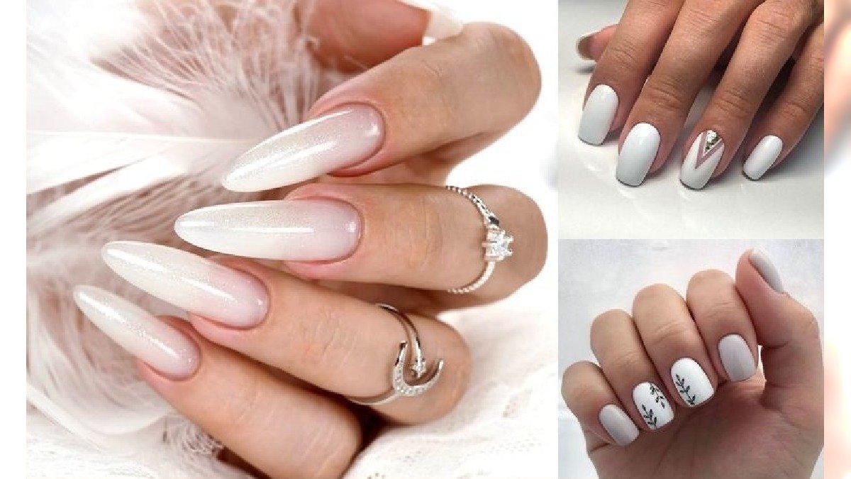 Biały manicure - 16 przepięknych i subtelnych zdobień