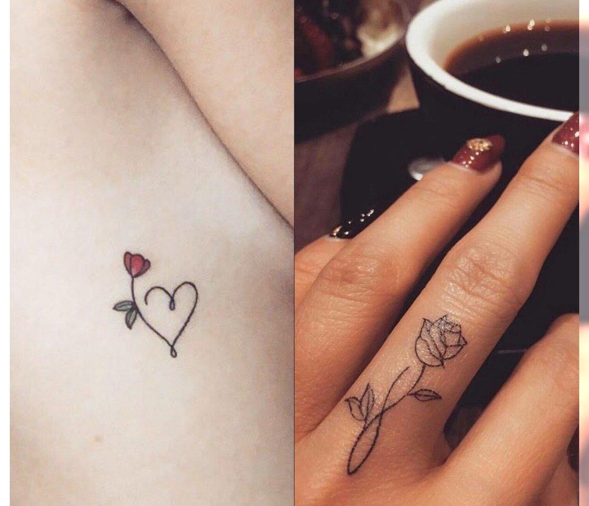 Małe tatuaże - 22 modne wzory nie tylko dla kobiet [GALERIA 2020]
