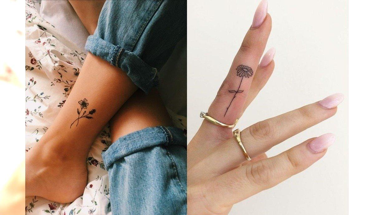 Małe tatuaże - 21 propozycji na modne, kobiece wzory [GALERIA]