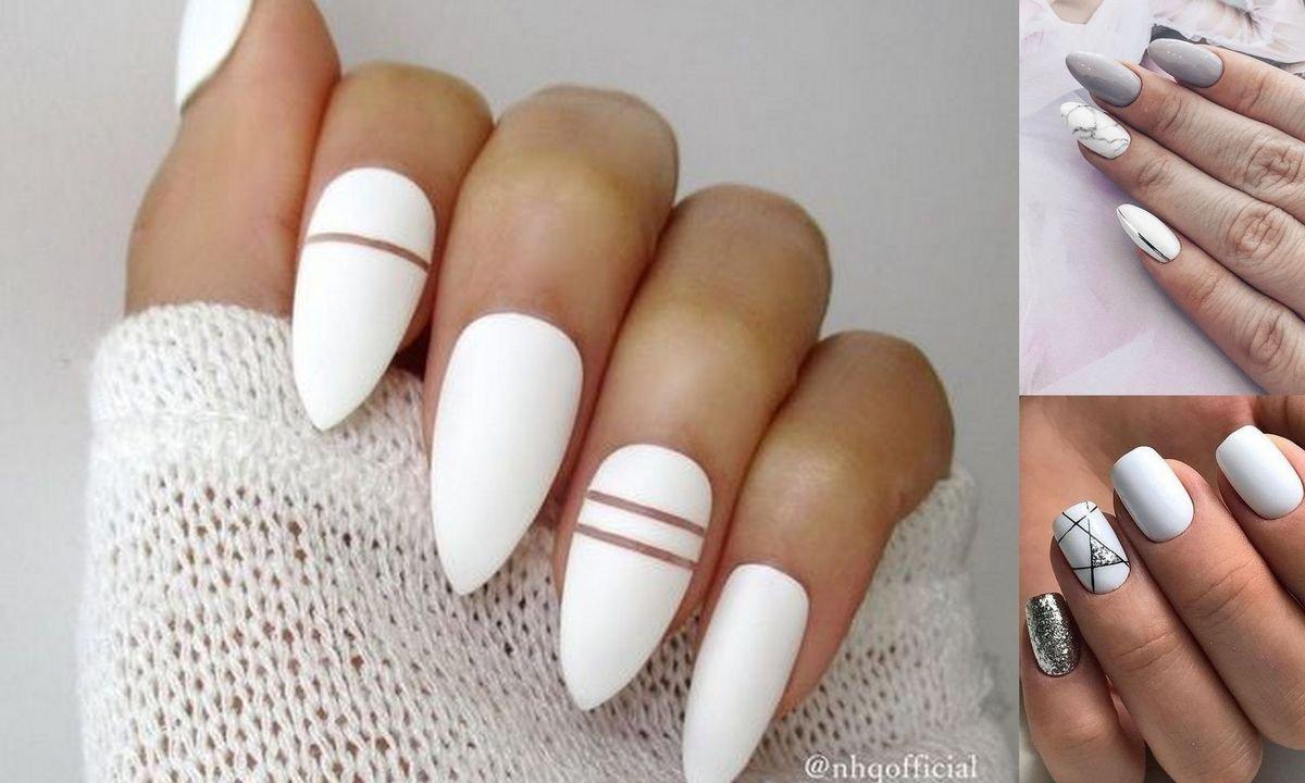 Biały manicure – 21 ultrapięknych i gustownych zdobień