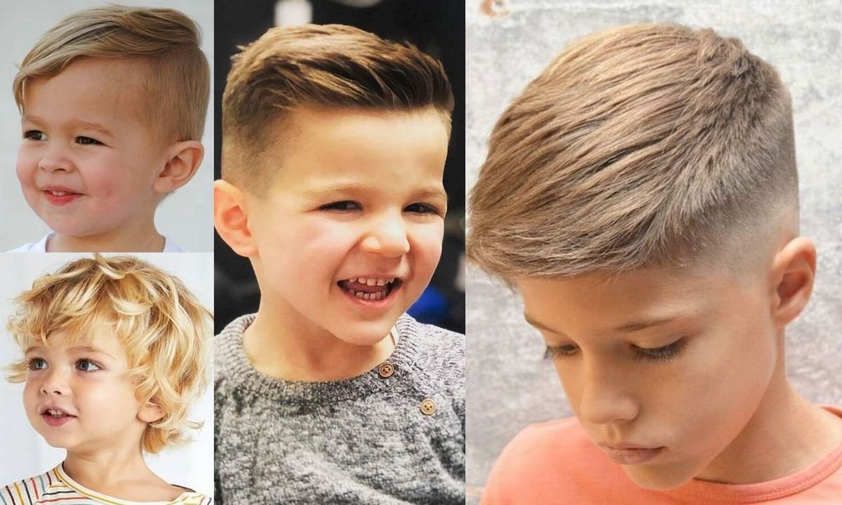 Przegląd fryzur dla chłopców w różnym wieku – GALERIA 2020