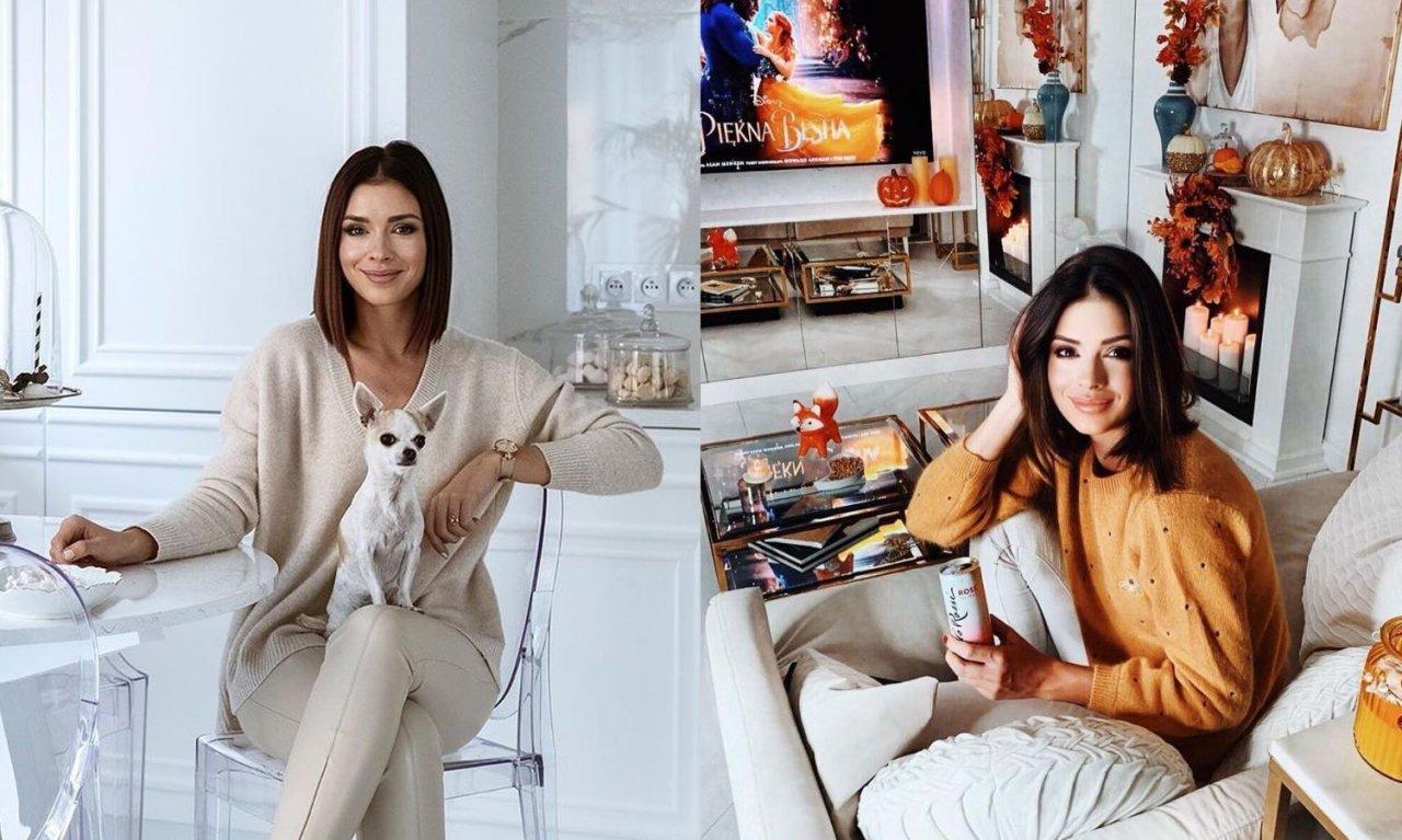 Klaudia Halejcio pokazała mieszkanie w stylu glamour! Przepiękne! Zakochacie się w jej kuchni