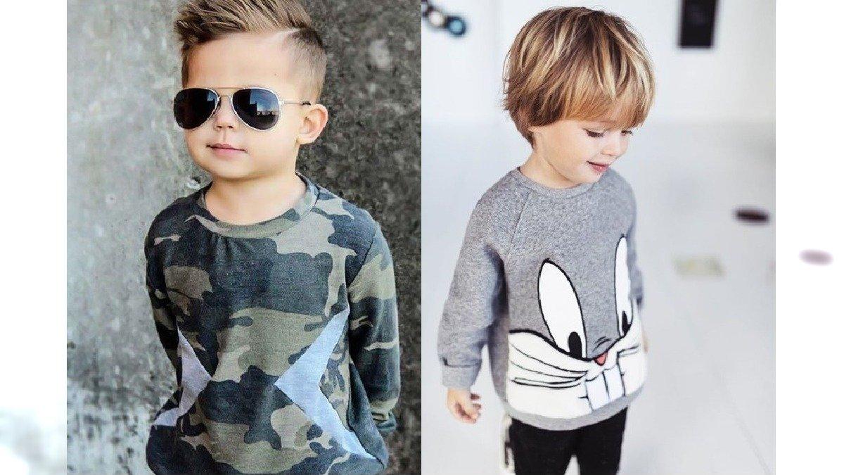 Fryzury dla chłopców - modne cięcia dla małych przystojniaków [GALERIA 2020]