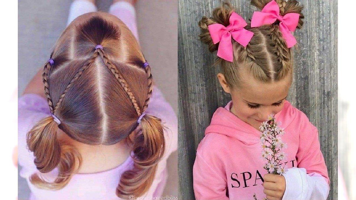 Fryzury dla dziewczynek - 25 pomysłów na modne upięcia [GALERIA]