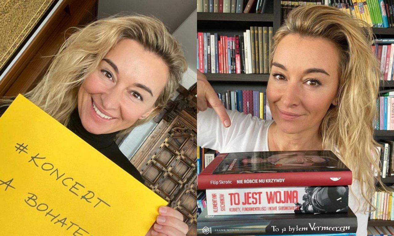 Martyna Wojciechowska pokazała zdjęcie z młodości! Będziecie zdziwieni jej naturalnym kolorem włosów!