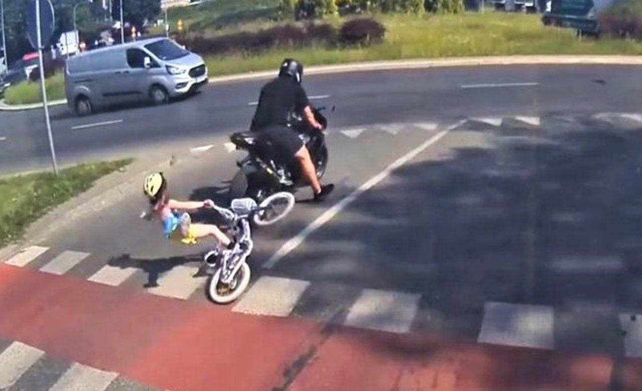 Matka szuka motocyklisty, który potrącił jej 6-letnią córkę. Do zdarzenia doszło w Olsztynie