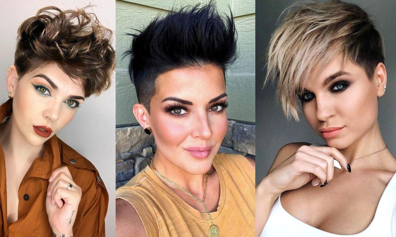 Odmładzające fryzury krótkie - 18 efektownych cięć z grzywką, pixie, undercut i wiele innych
