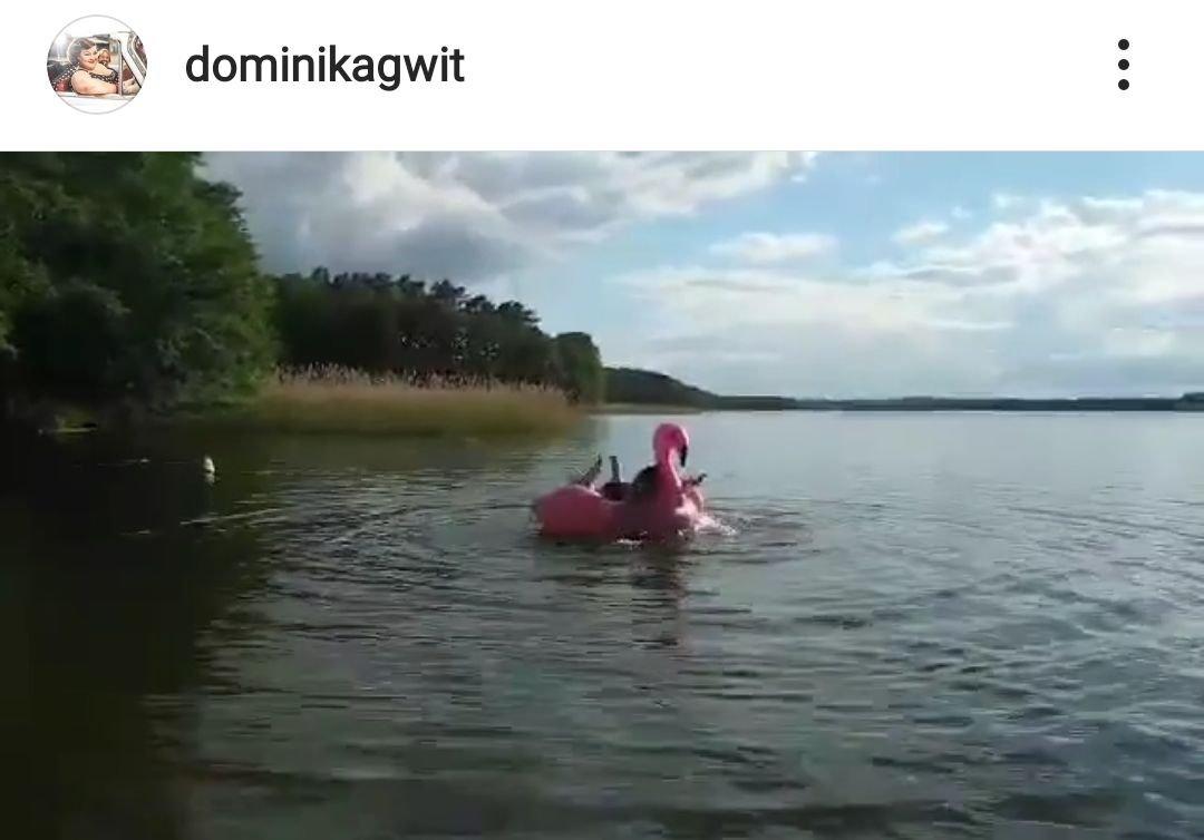 Dominika Gwit, kostium kąpielowy