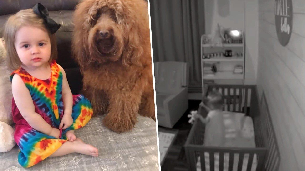 Zamontowała kamerkę w pokoju 2-letniej córki. Była w szoku, gdy zobaczyła nagranie!