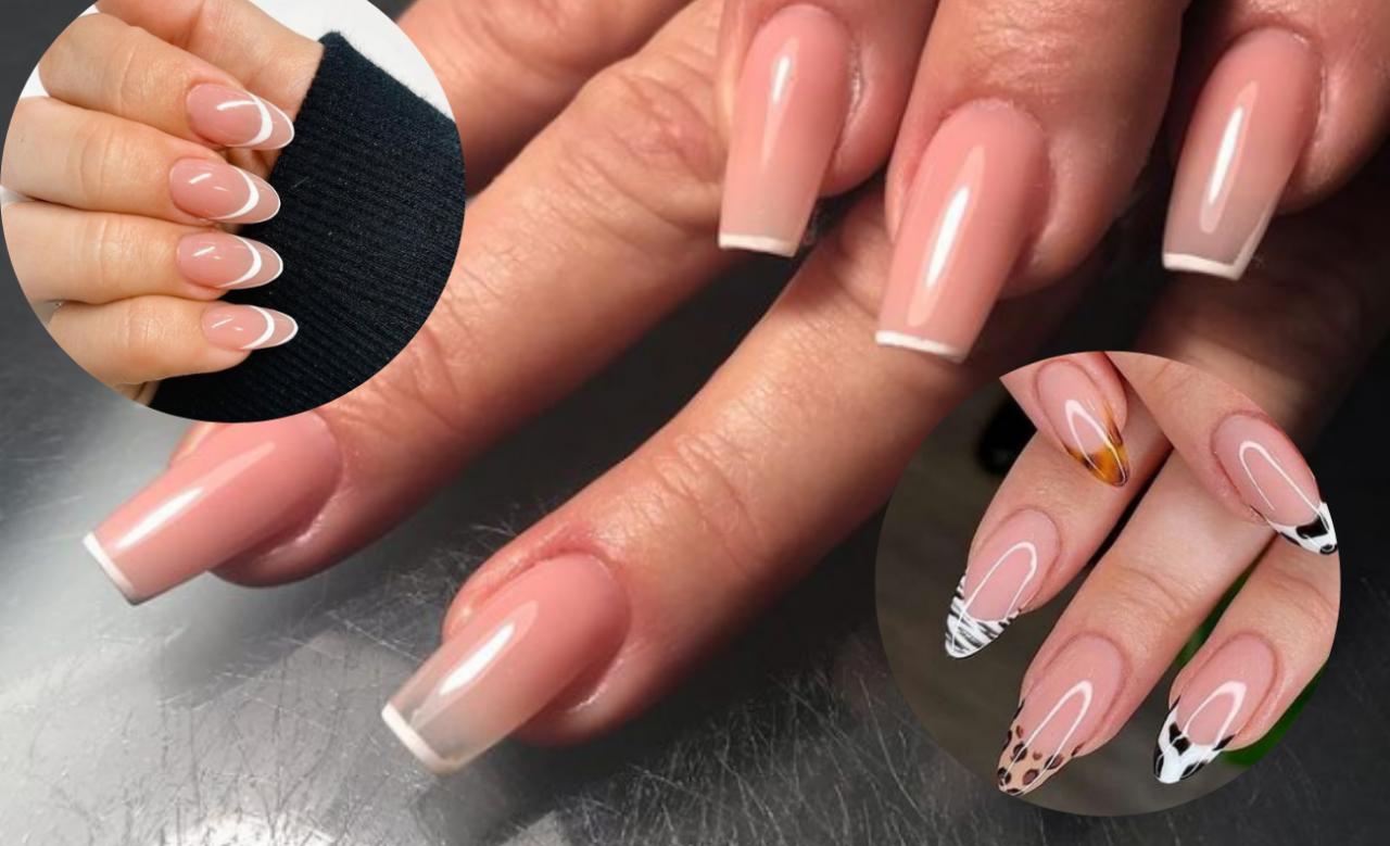 New french - trend w manicure na rok 2021