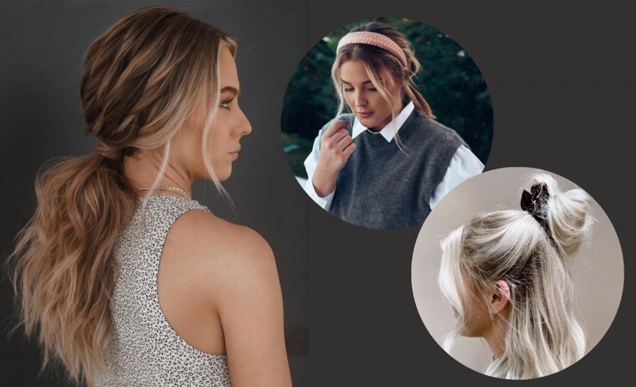 Swobodny look - hot trend dla długich włosów na rok 2021