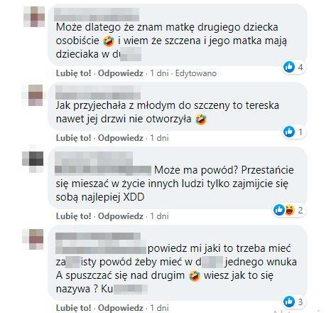 screen rozmów z facebooka ryszarda dąbrowskiego