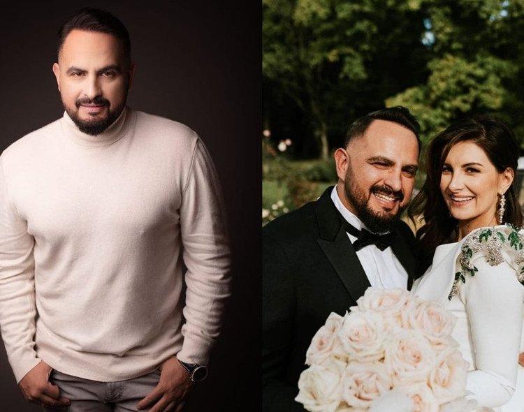 Agustin Egurolla z żoną