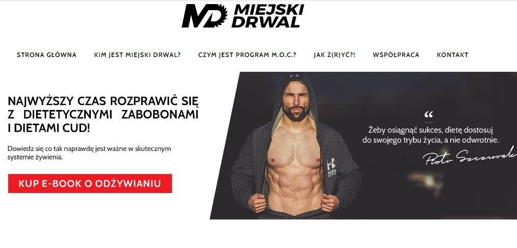 Piotr Szczurek, strona