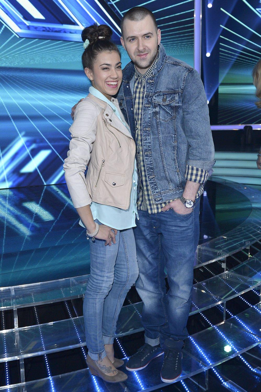 Grzegorz Hyży, Maja Hyży w X-Factor