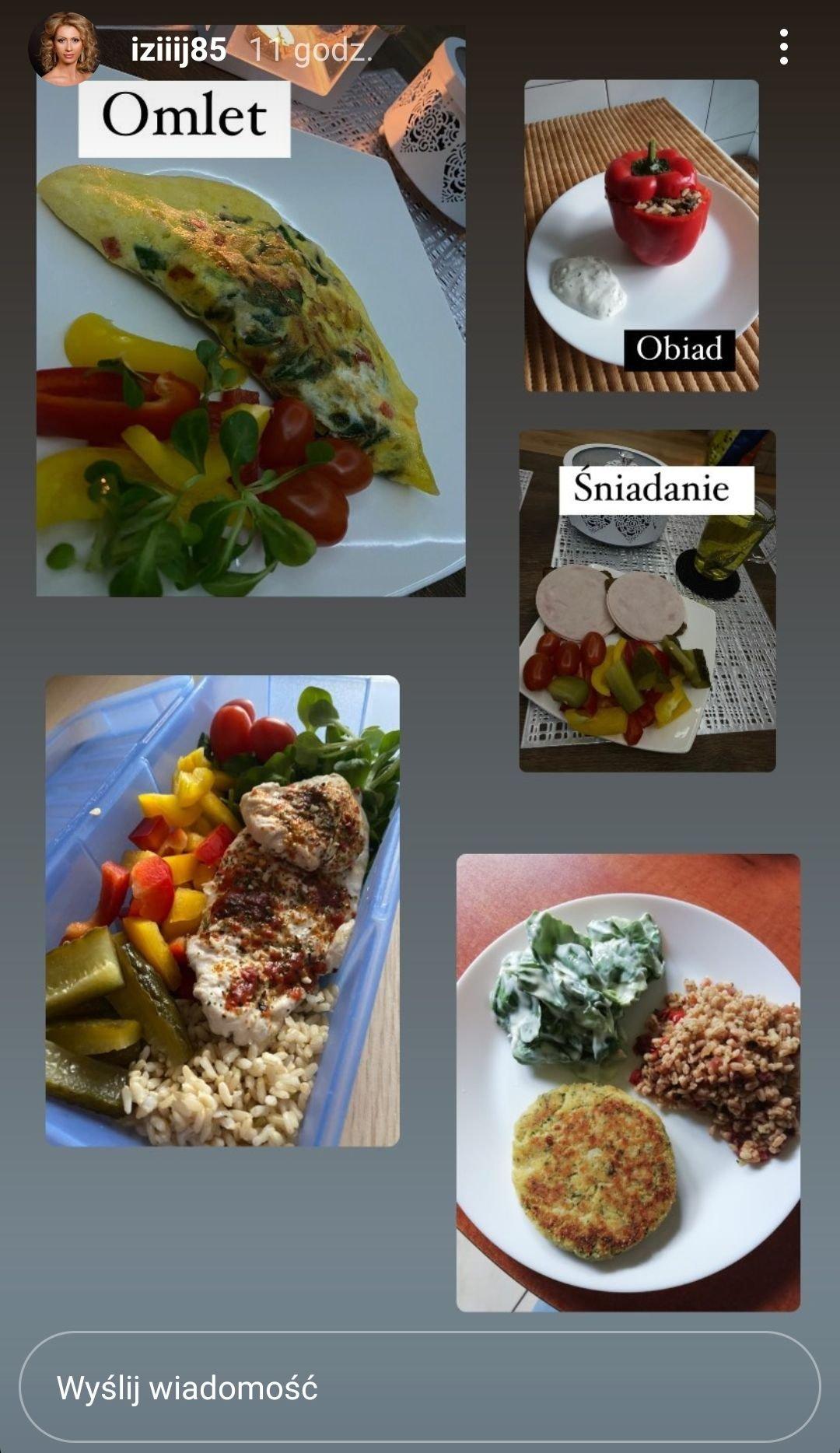 Iza Juszczak dieta
