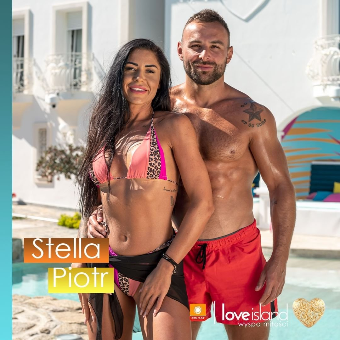 Piotr i Stella z Love Island