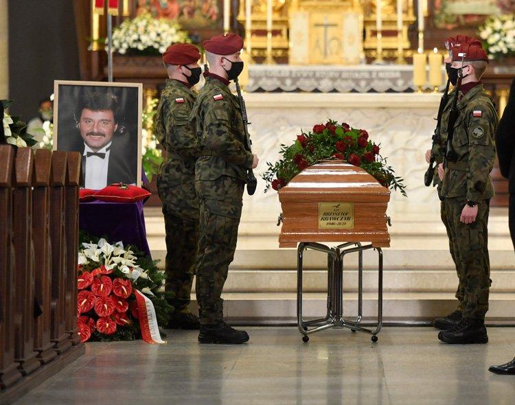 Msza pożegnalna Krzysztofa Krawczyka