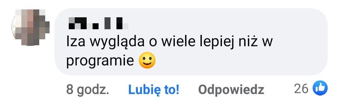 Iza Juszczak, komentarze