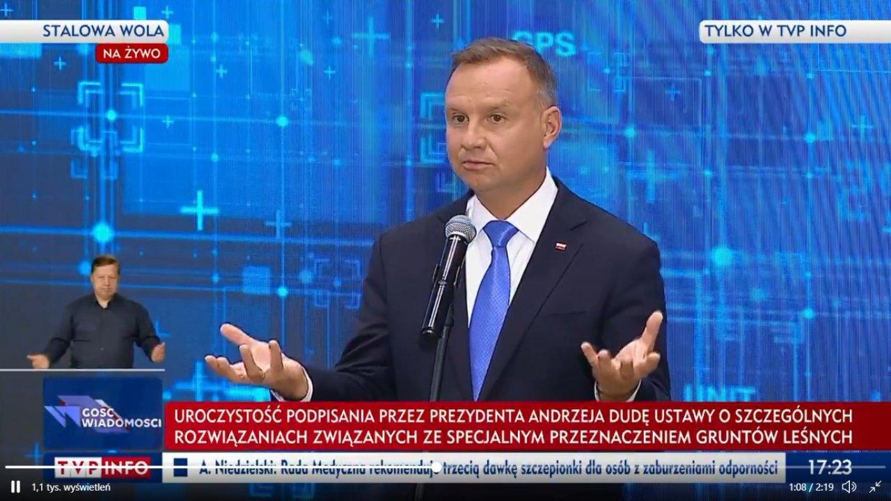 Andrzej Duda, waga