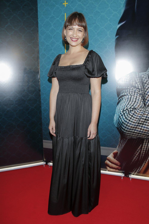 Anna Cieślak w sukni czarnej