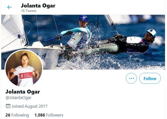 Jolanta Ogar-Hill na Twitterze