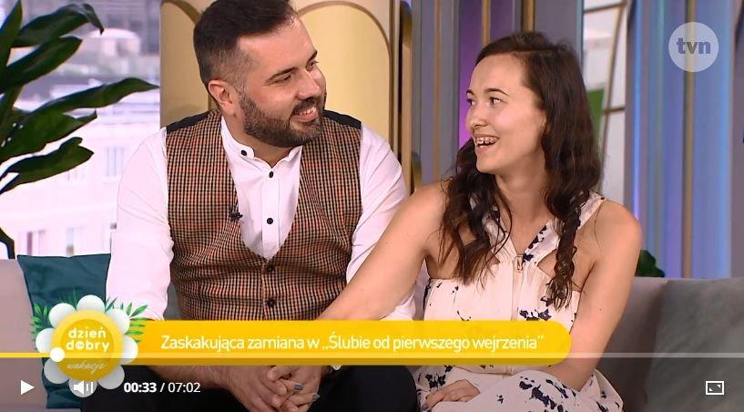 Laura Wielich i Karol Maciesz w DD TVN