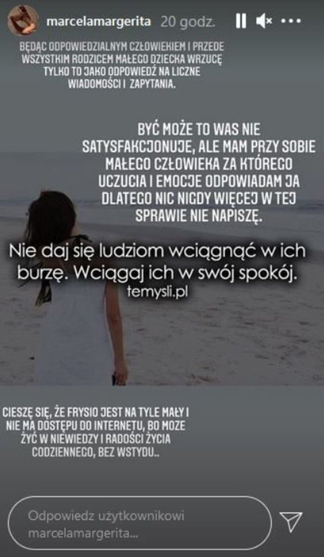 screen z konta Marceli Leszczak