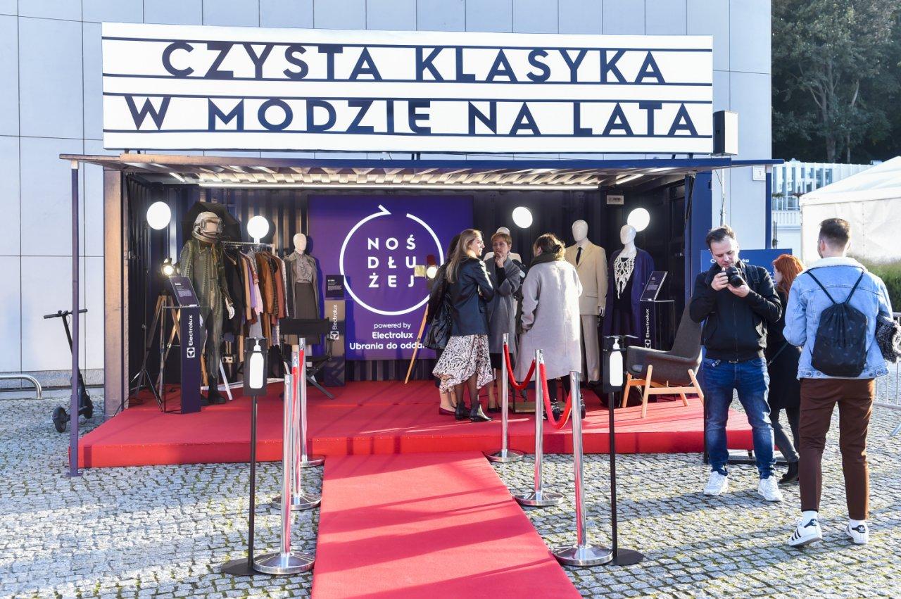 """Strefa """"Czysta klasyka w modzie na lata"""" na FEstiwalu w Gdyni"""