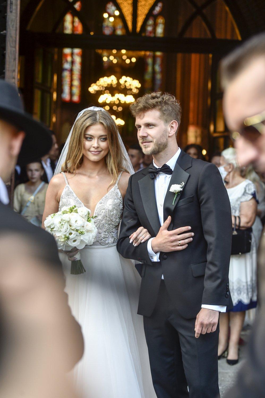 Ślub Antka Królikowskiego z Joanną Opozdą