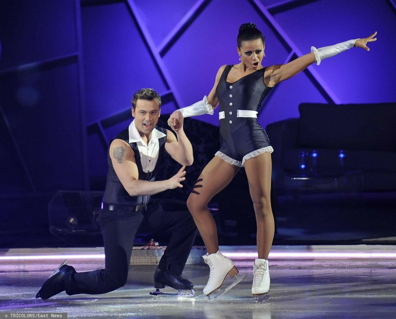 """Aleksandra Ola Szwed w programie """"Gwiazdy tańczą na lodzie"""""""